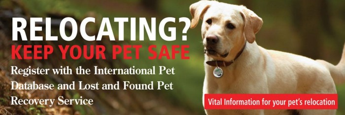 Register with the International Pets Database